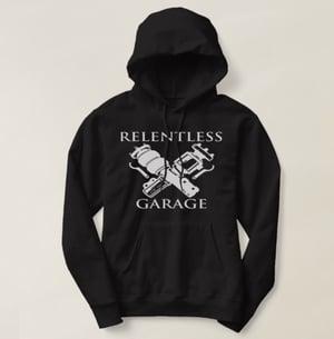 "Image of New!!! ""Relentless Garage"" Hooded Sweatshirt"