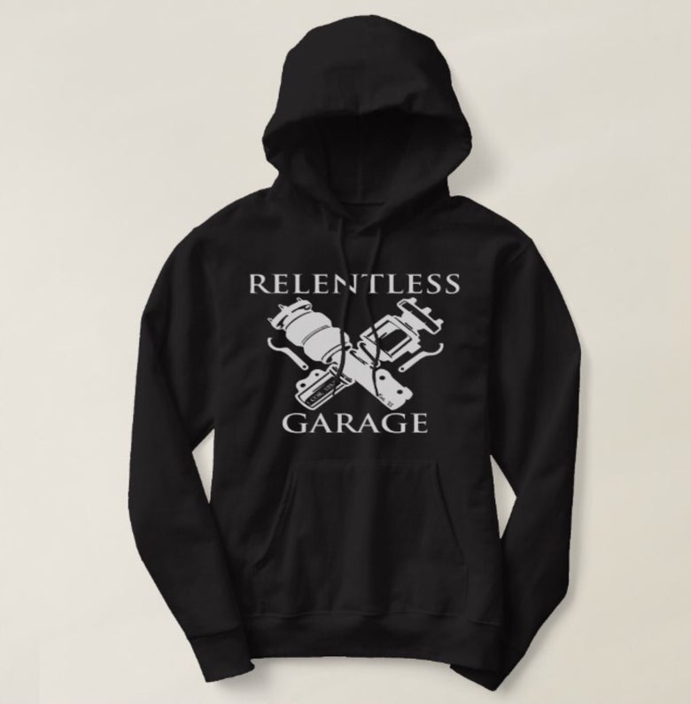 "Image of New!!! ""Relentless Garage"" Hooded Sweatshirt"