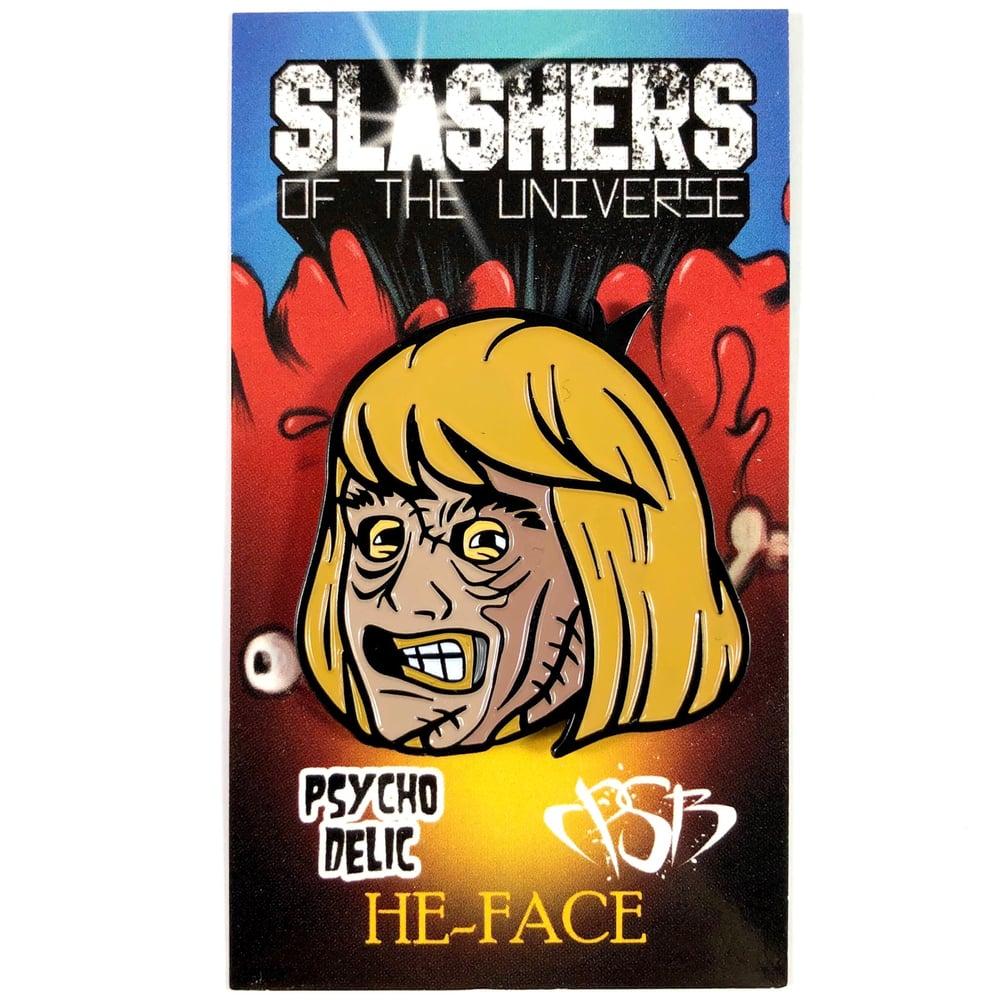 He-Face (Enamel Pin) Slashers of the Universe