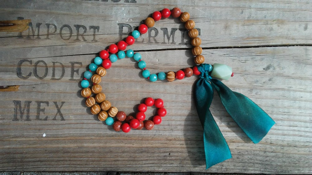 Image of Baby Mala Wrap Around Bracelet