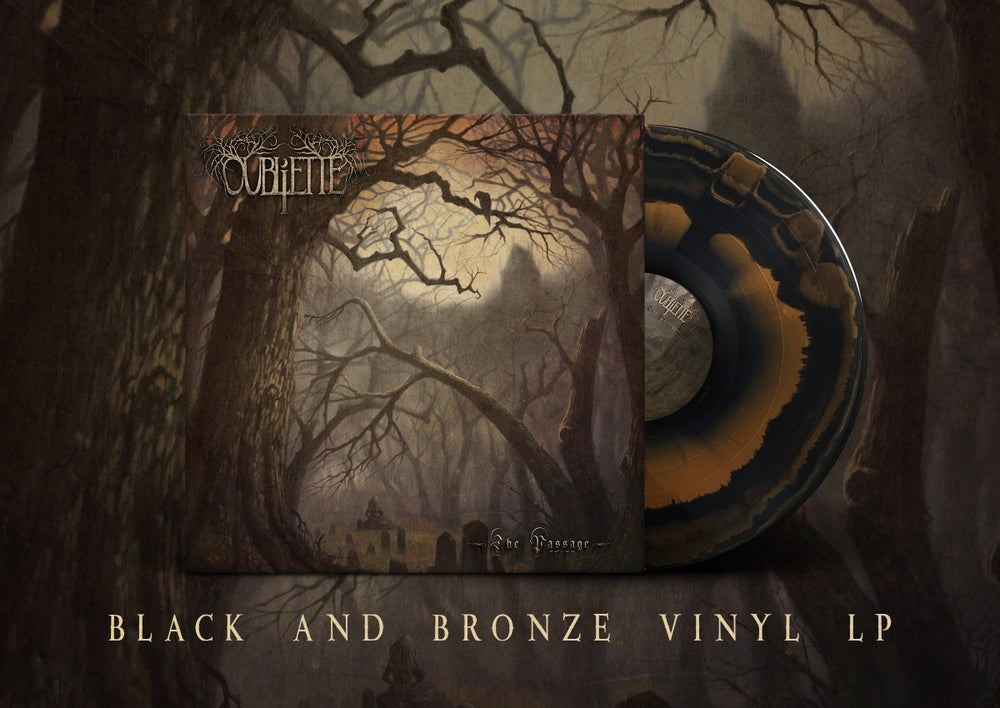 Image of [PRE-ORDER] OUBLIETTE - The Passage - Black/Bronze LP
