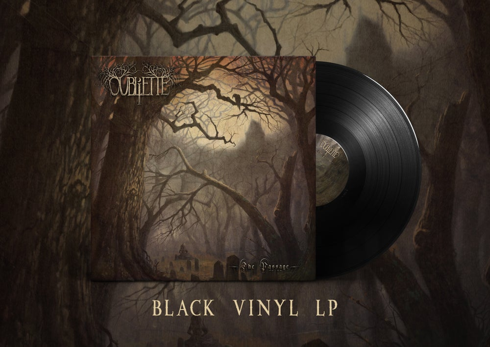 Image of OUBLIETTE - The Passage - Black LP