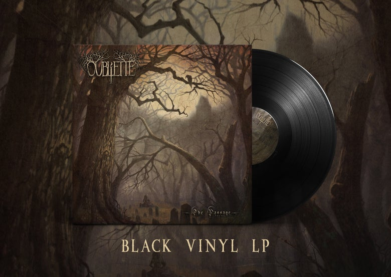 Image of [PRE-ORDER] OUBLIETTE - The Passage - Black LP