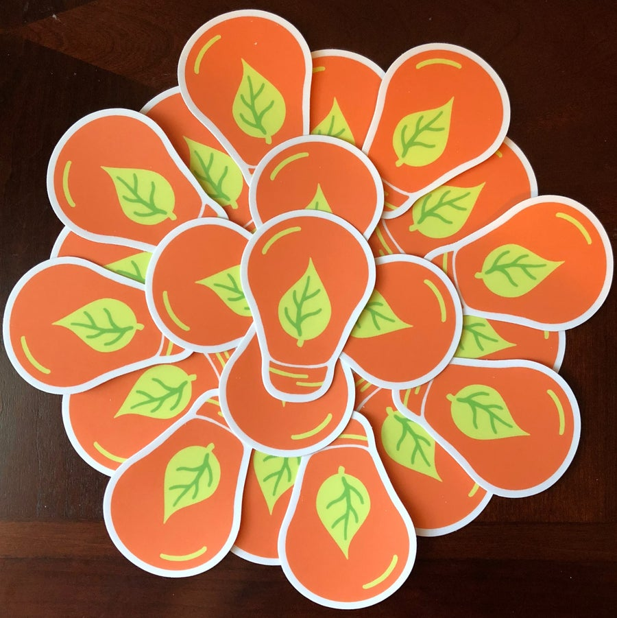 Image of Lightbulb Stickers