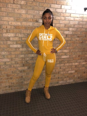 Image of The mustard Two piece set