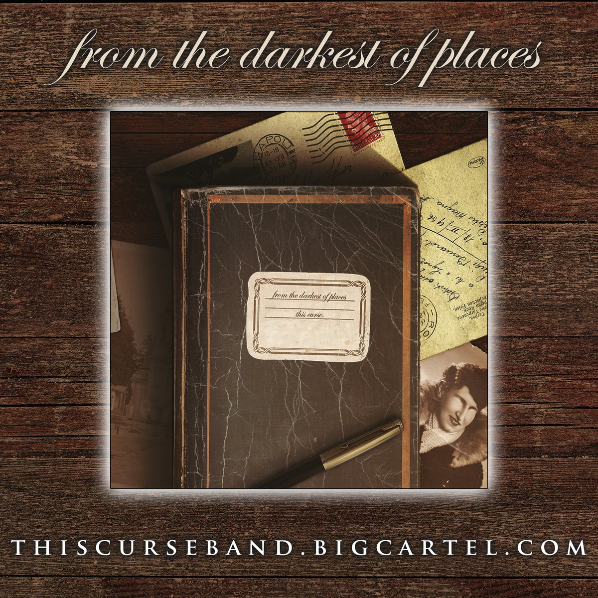 """Image of """"From the Darkest of Places"""" CD/Digipak"""