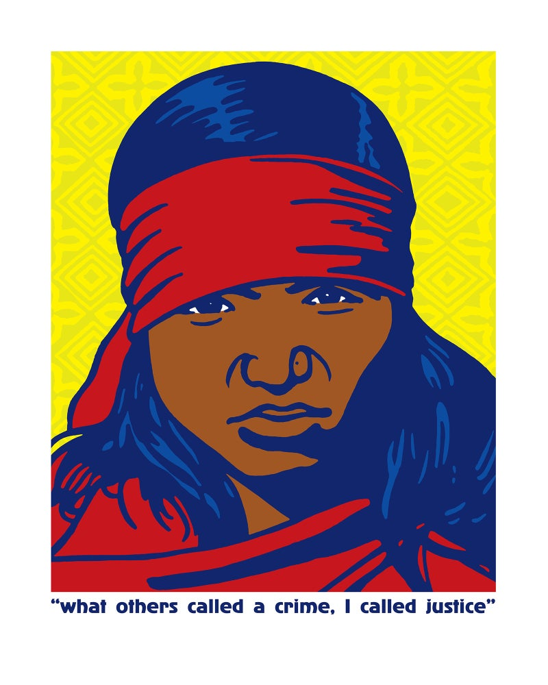 Image of what others called a crime, I called justice (Phoolan Devi, 2018)