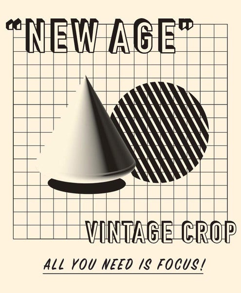 Image of Vintage Crop - New Age Bundle