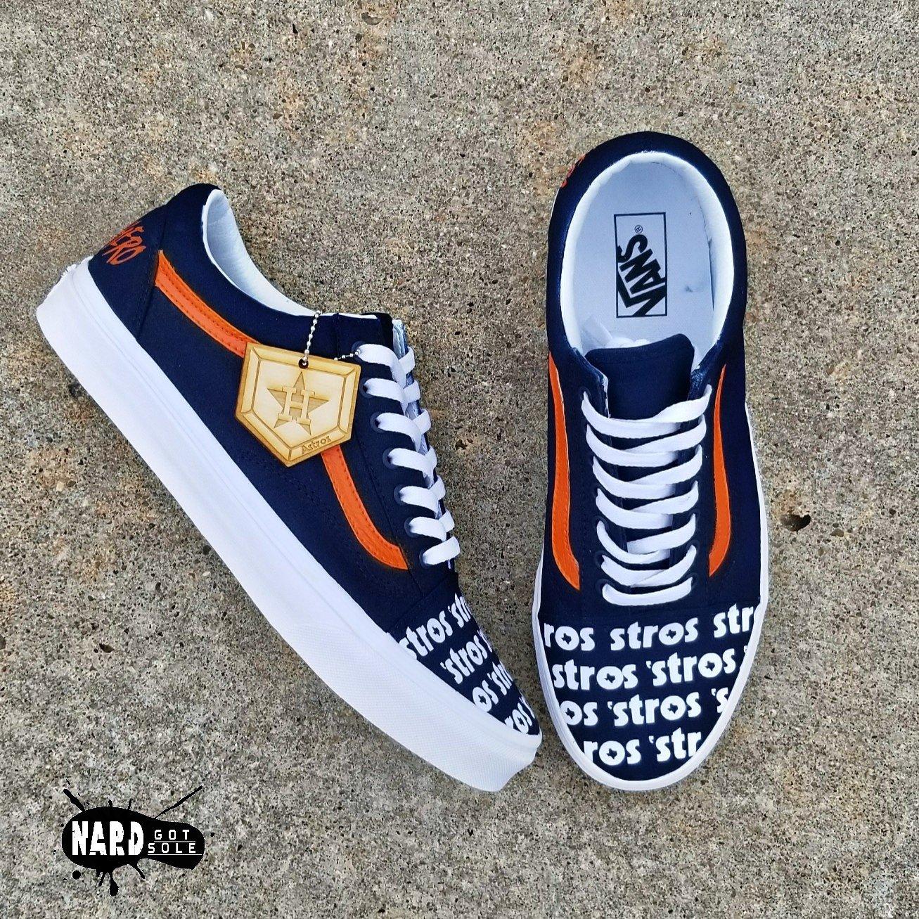 Custom 'Stros Vans | Nard Got Sole Customs