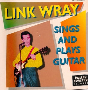 "Image of 7"" EP. Link Wray : Sings & Plays Guitar."