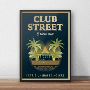 Image of Club Street Poster