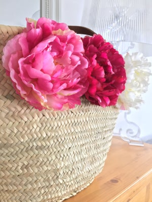 Image of Cabas big peonies