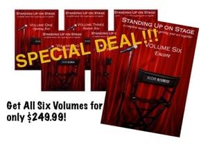 Image of COMPLETE SET STAND UP DVDS 1-6 SET!!