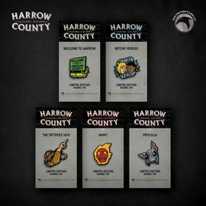 Image of Harrow County: Haint, Priscilla, Witchy Friends, Welcome Sign & Tattered Skin! FREE U.S. SHIPPING!