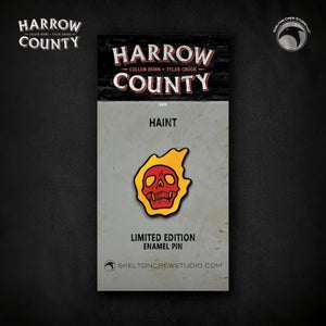 Image of Harrow County: Limited Edition Haint enamel pin!
