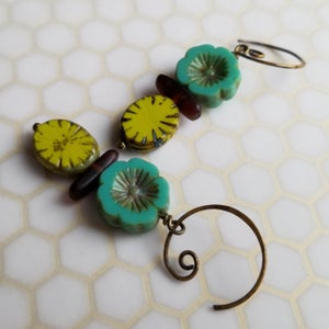 Image of Bohemian Luau Earrings