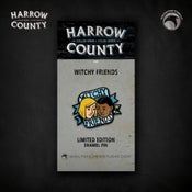 Image of Harrow County: Limited Edition Witchy Friends enamel pin!