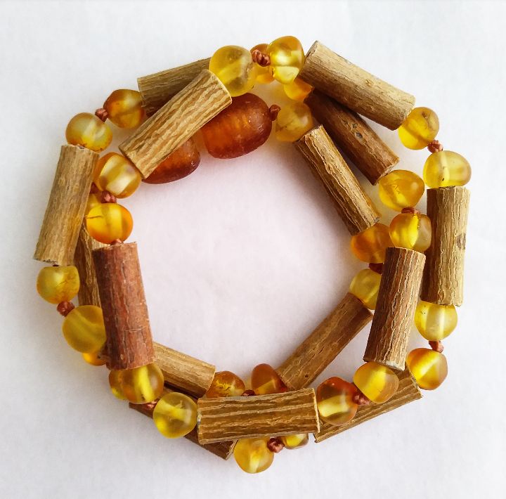 Image of Canadian Hazelwood and honey Baltic amber