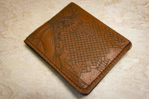 Image of RVA Map Wallet