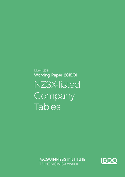 Image of Working Paper 2018/01 – NZSX-listed Company Tables