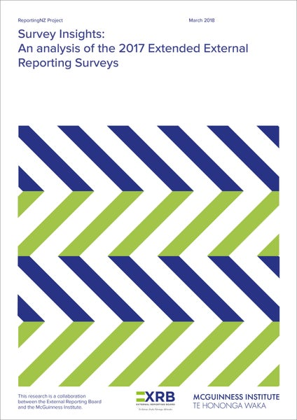 Image of Survey Insights: An Analysis of the 2017 Extended External Reporting Surveys