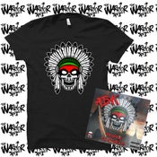 Image of PRE-ORDER - ABK - TRIPLE FEATURES CD & TSHIRT PACKAGE