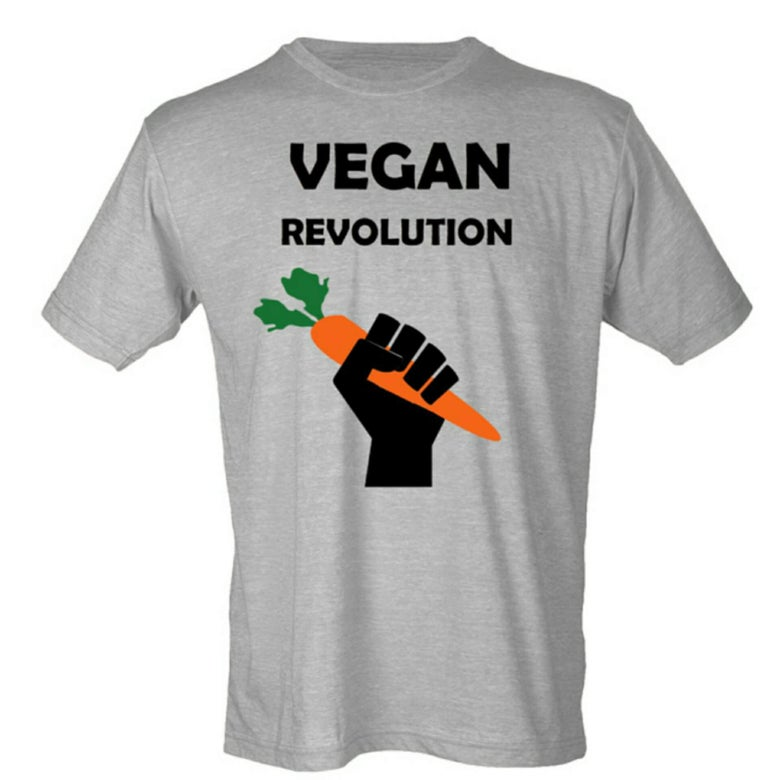 Image of VEGAN REVOLUTION T-SHIRT