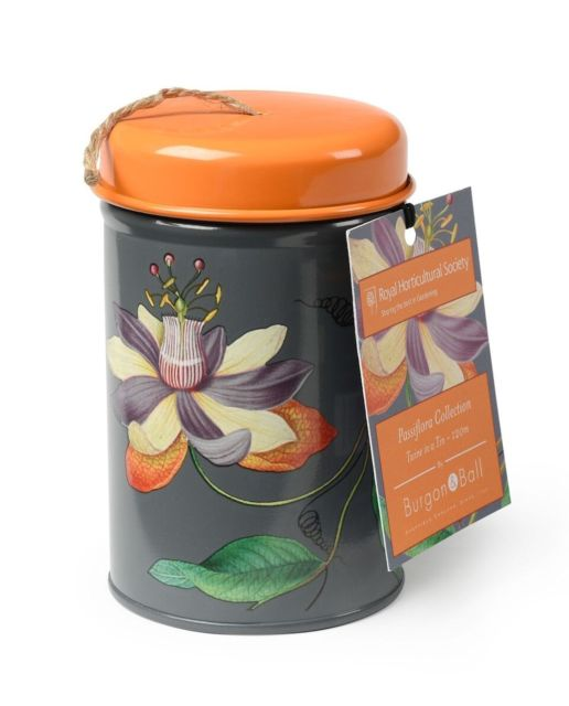 Image of Burgon & Ball Passiflora Gardener's Twine Tin