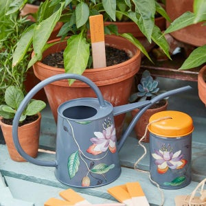 Image of Burgon & Ball Passiflora Gardener's Twine Tin