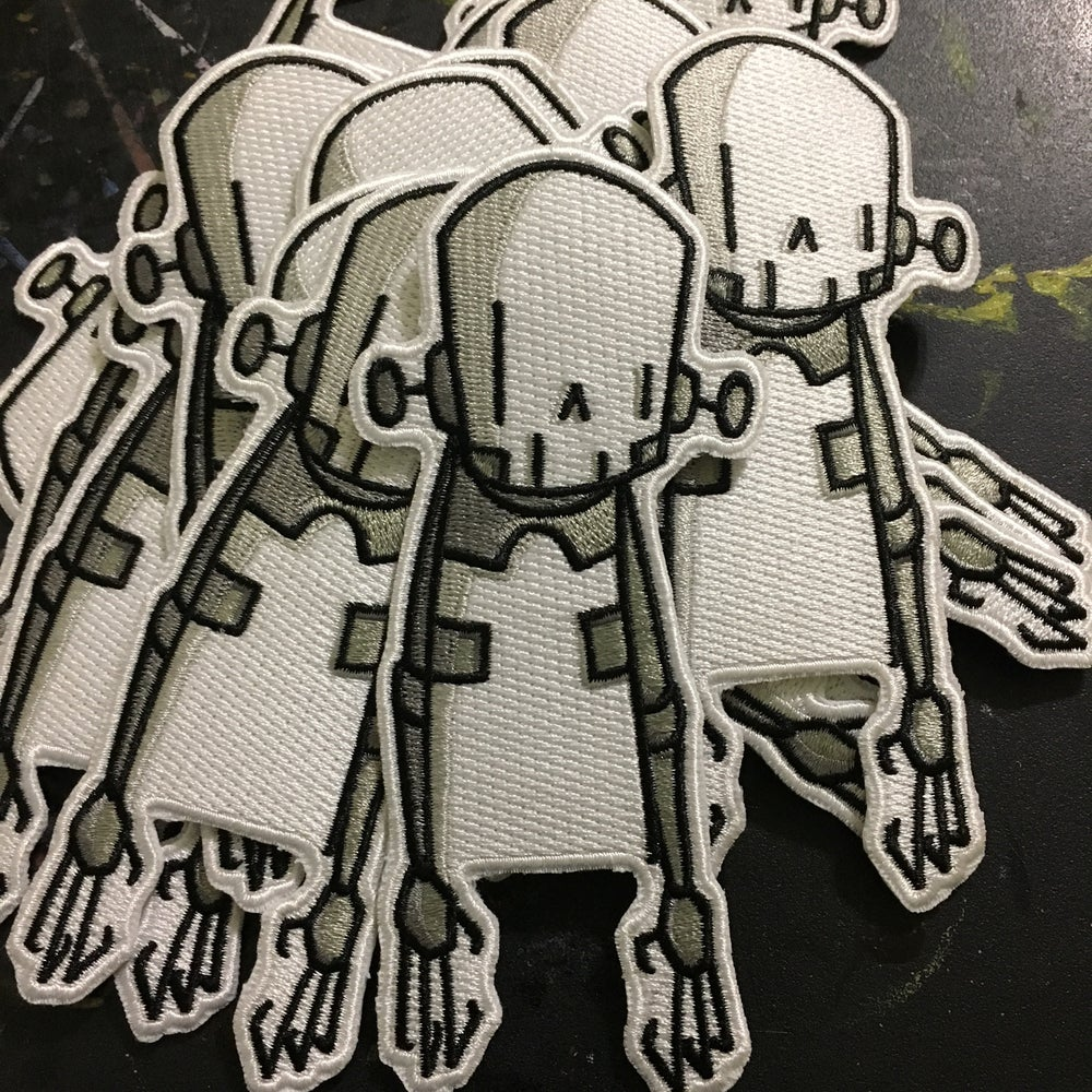Image of 1 skeleton robot