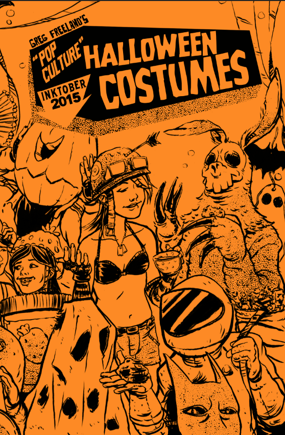 Image of Pop Culture Halloween Costumes | Art Book Zine