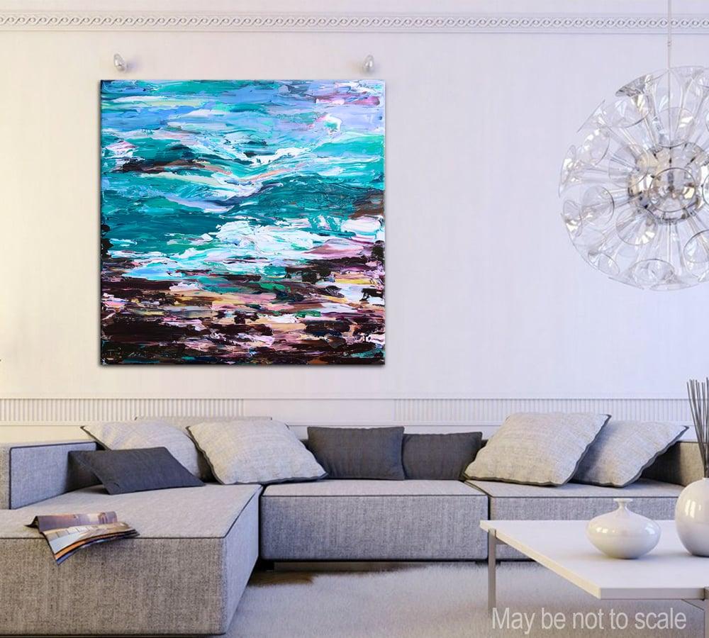Image of 'Coastal no.35' - 101x101cm
