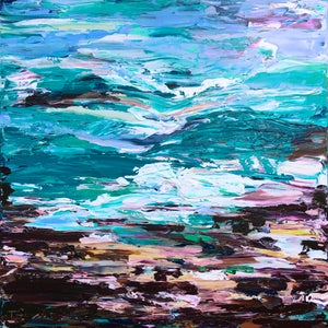 Image of 'Coastal no.35' - 101x101cm