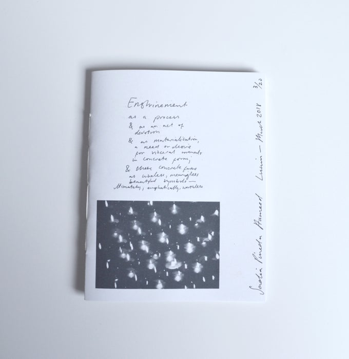 Image of ENSHRINEMENT ZINE