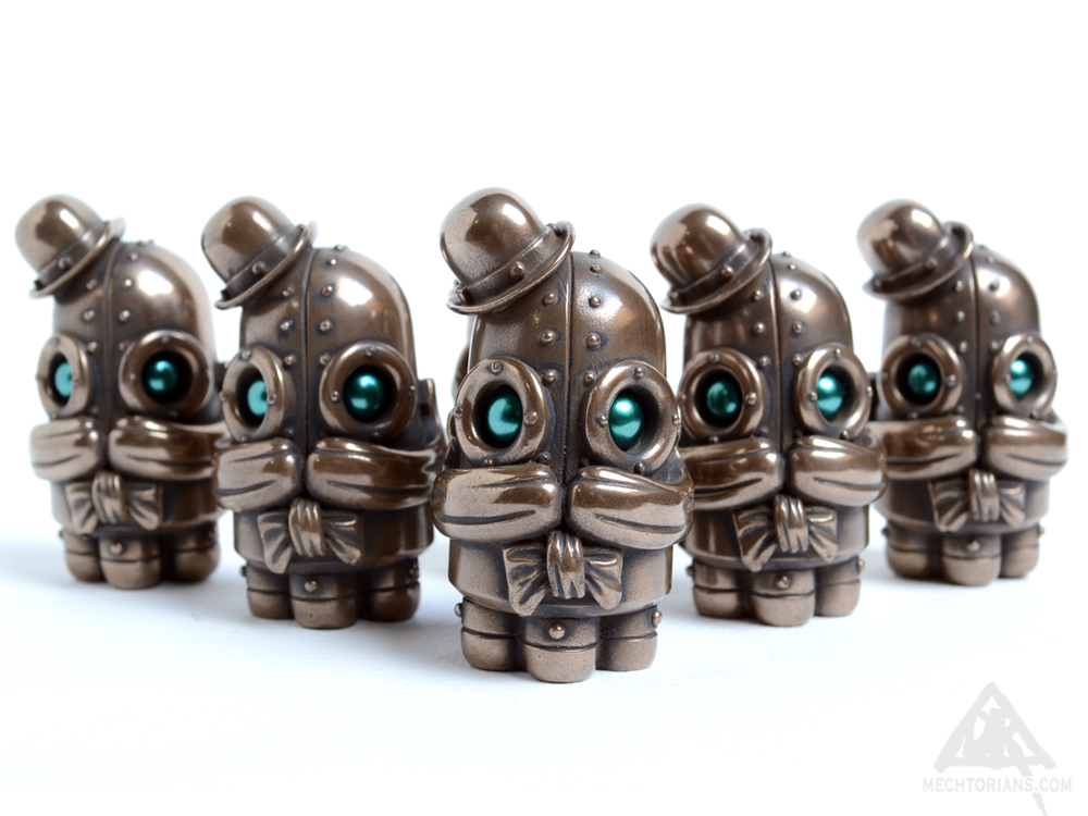 "Image of Blinky Allsop ""Bronze"" Edition Mechtorian Resin Figure *FREE SHIPPING*"