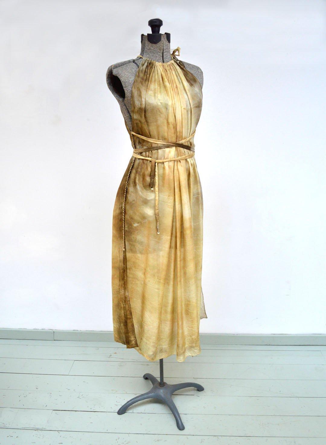 Image of Rustic gold Artemis dress