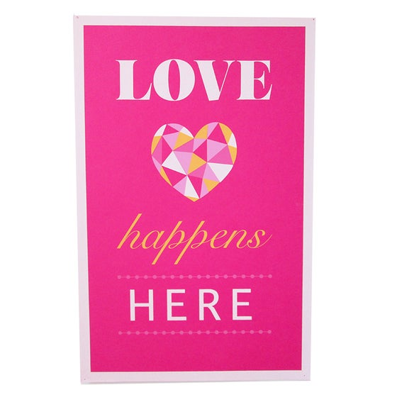 Image of LOVE Happens Here Poster