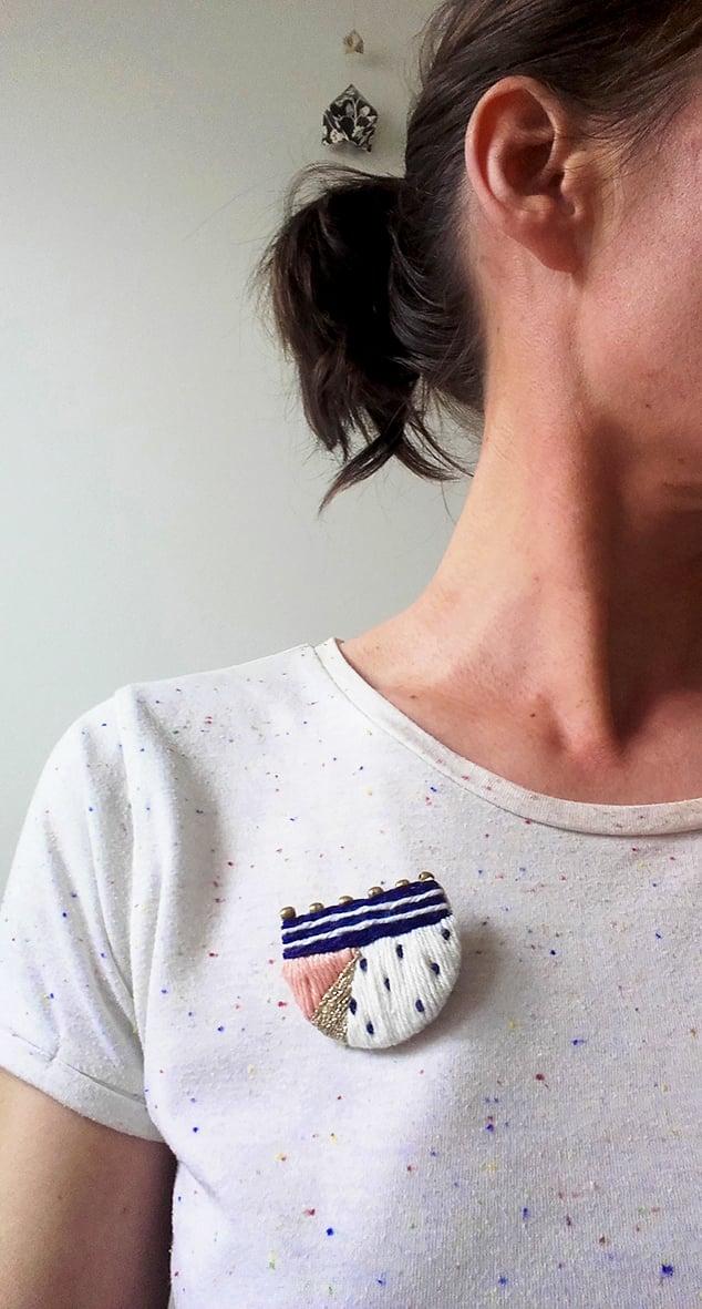 "Image of broche ""petit à petit"" x Marie Leonetti"