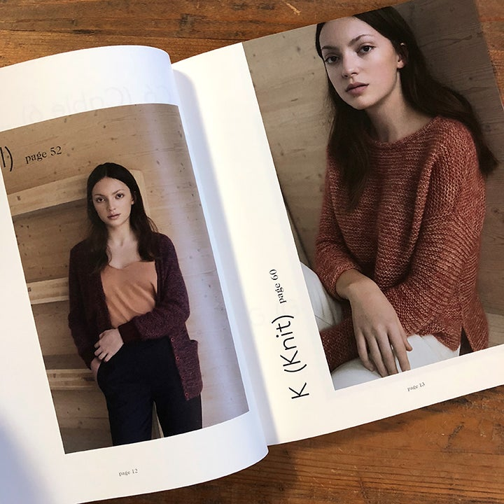 Image of K (Knit) by Helga Isager