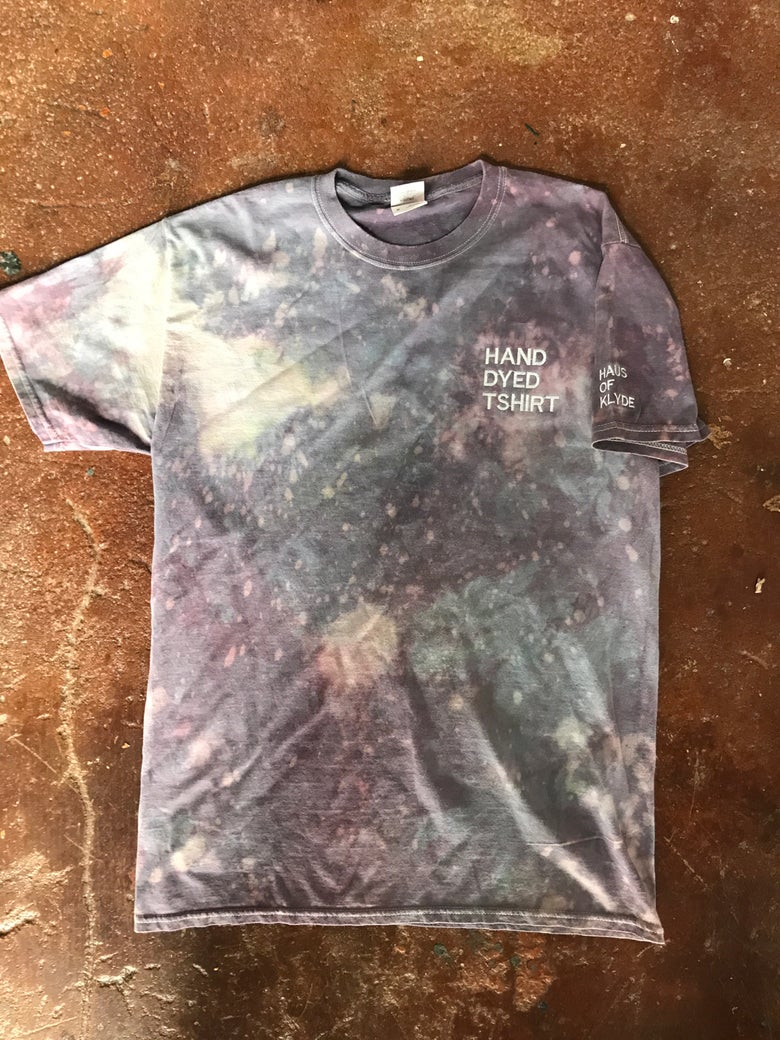 "Image of Embroidered ""Hand Dyed T-shirt"""