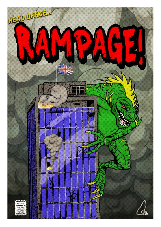 Image of 'Head Office Rampage' Print