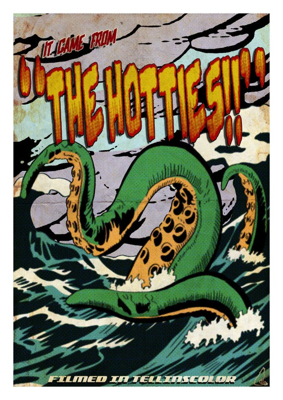 Image of St Helens Monster Print Set
