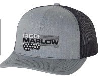 "Image of RED MARLOW ""GUITAR"" BALL CAP - GREY & BLUE"