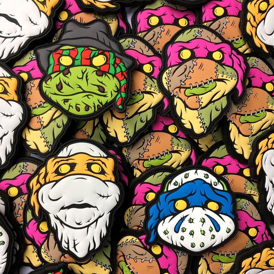 Image of 3D TMNKiller patch set