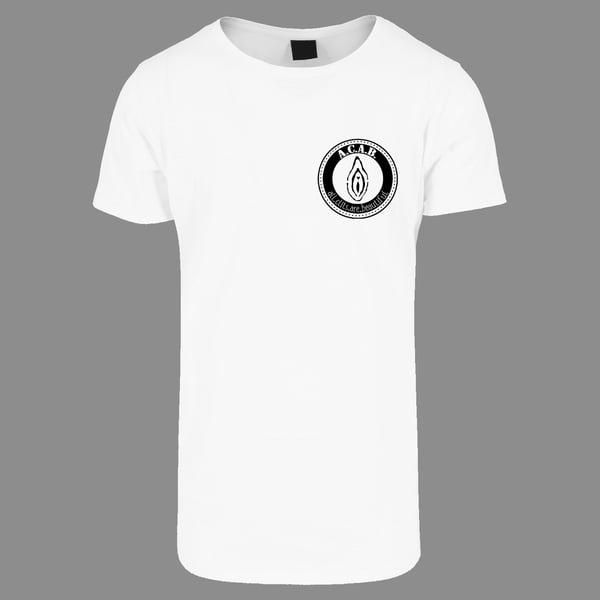 "Image of ""ALL CLITS ARE BEAUTIFUL""   T-Shirt   bio   organic   Antifa   161   ACAB   feminist   body positive"