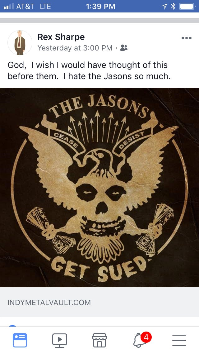 "Image of The Jasons ""Get Sued"" CD"
