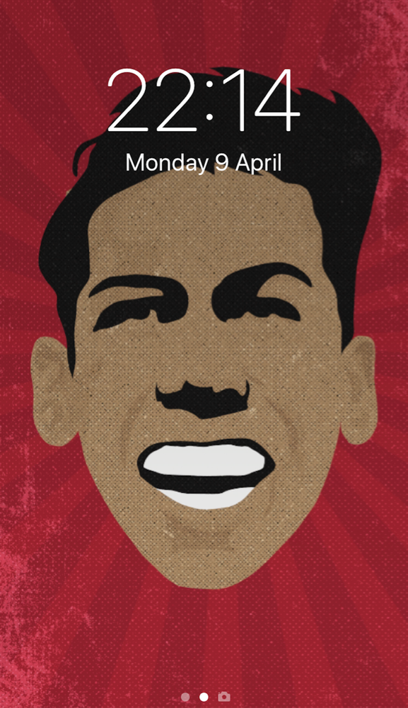 Image of Roberto Firmino phone wallpaper