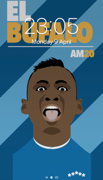 Image of Alfredo Morelos phone wallpap