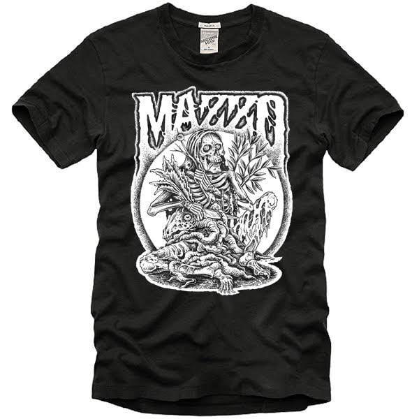Image of MAZZO T-SHIRT SCARFUL ARTWORK - BLACK - DISPONIBILE DAL 27 APRILE 2018.