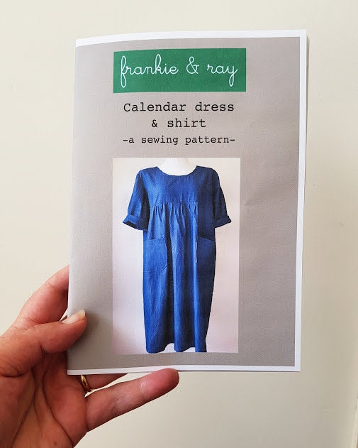 Image of Calendar dress & shirt - sewing pattern